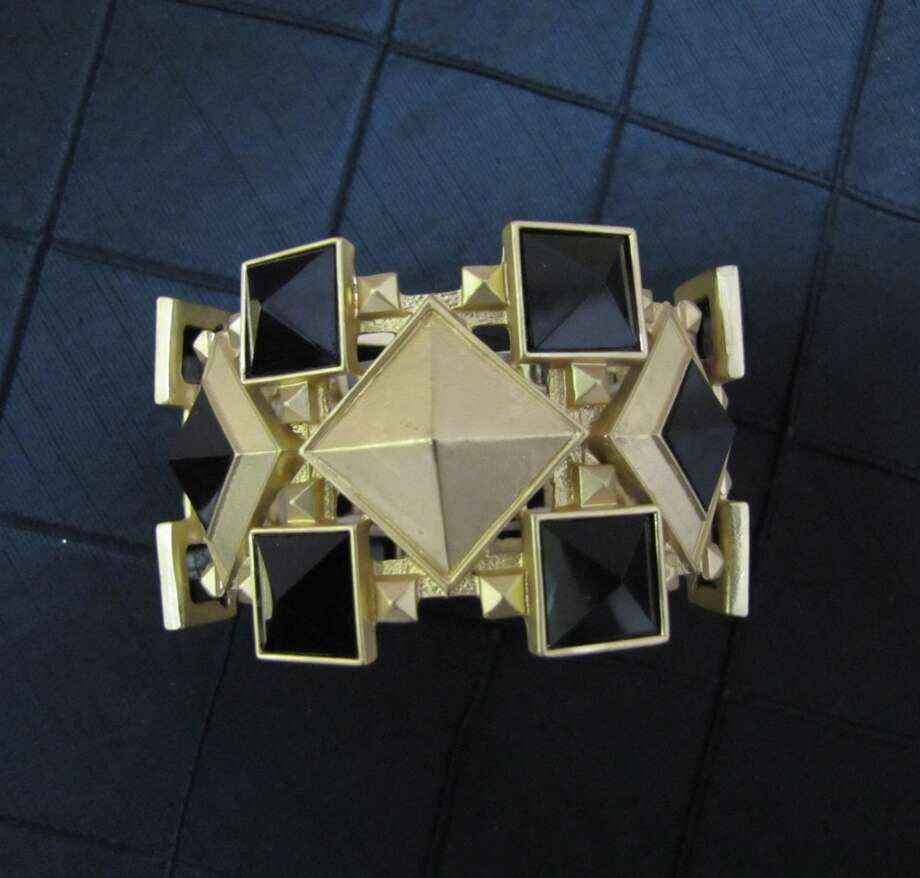 Geometric bracelet, $38, Bella Bella, Beaumont Photo: Cat5