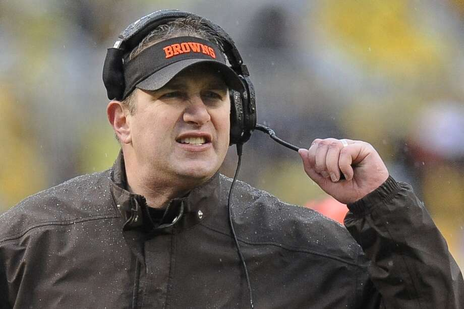 Rob Chudziknsi  Team: Cleveland Browns  Years with team: 2013  Record with Browns: 4-12 Photo: Don Wright, Associated Press