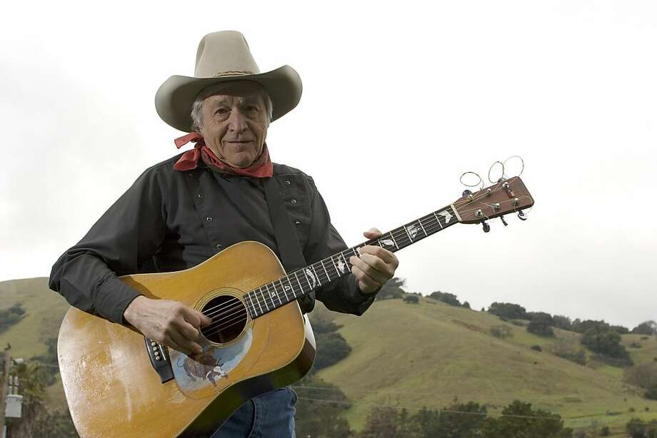 Ramblin' Jack Elliott grew up in Brooklyn but now makes his home in Marin County. Photo: Anti-