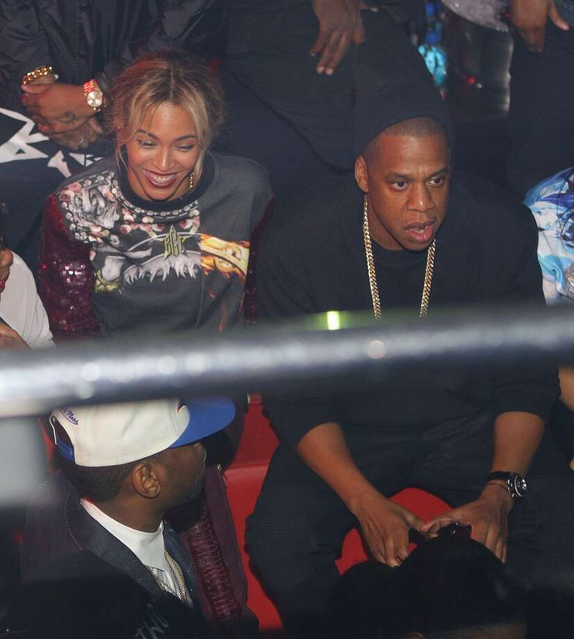 Beyonce and JAY-Z attend a party at Reign Nightclub on December 27, 2013 in Atlanta, Georgia. Photo: Prince Williams, FilmMagic