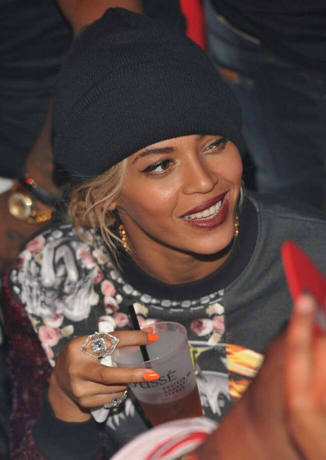 Beyonce attends a party at Reign Nightclub on December 27, 2013 in Atlanta, Georgia. Photo: Prince Williams, FilmMagic