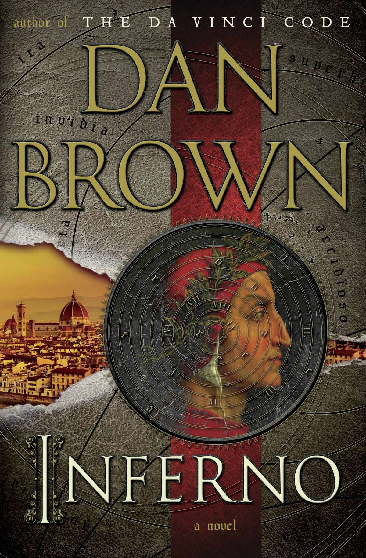"""This book cover image released by Doubleday shows """"Inferno,"""" by Dan Brown. No mega-sellers came out in 2013, nothing that compared with E L James' """"Fifty Shades of Gray"""" or Stieg Larsson's crime novels. Adult readers turned to dependable favorites such as Dan Brown and Khaled Hosseini, while teens and grade-schoolers stuck with Rick Riordan, Jeff Kinney and Veronica Roth, whose """"Divergent"""" series is set to debut on the big screen in 2014. (AP Photo/Doubleday) ORG XMIT: NYET342"""