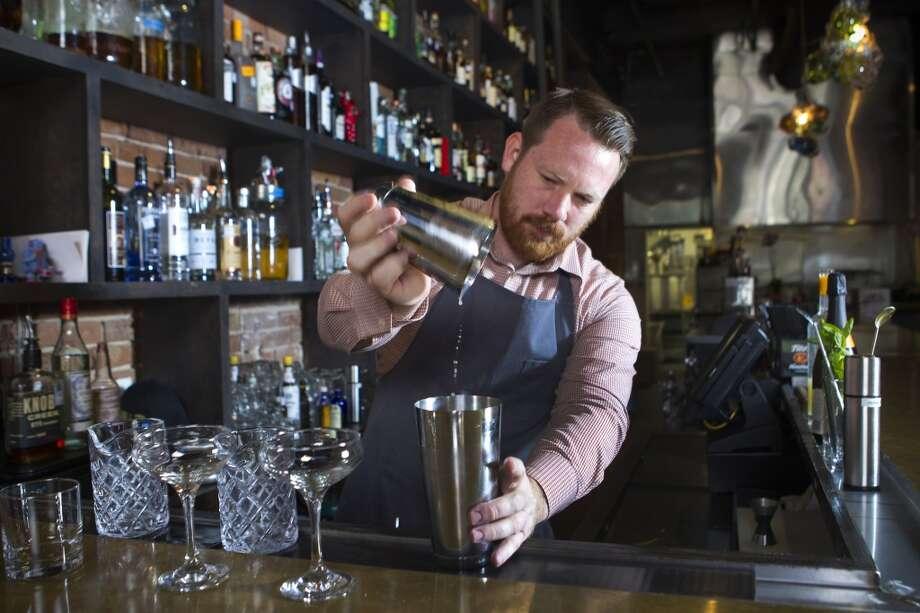 """Another drink."" -- Melisha ( Brett Coomer / Houston Chronicle ) Photo: Brett Coomer, Houston Chronicle"