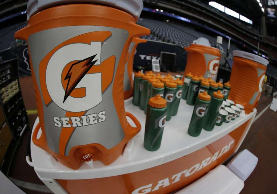 """BC Powder in Gatorade."" -- Heather (AP Photo/David J. Phillip) Photo: David J. Phillip, Associated Press"