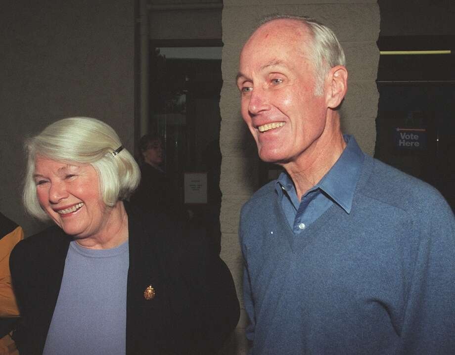 """Sally Gorton was savvy partner to U.S. Sen. Slade Gorton during a 42 year political career, and a formidable civic activist in her own right. She started doorbelling for her husband on the night they returned from their honeymoon in 1958. She died of cancer at age 80.""""He's not a schmoozer,"""" Gorton would say of her husband. She supplied a vital element of warmth in putting and holding together a political and staff operation that was tribal in its loyalty. Photo: PHIL H. WEBBER"""