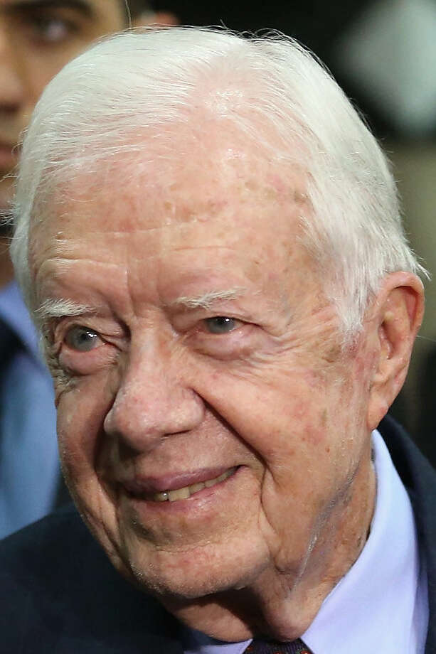 Jimmy Carter was a  U.S. president  and recipient of the Nobel Prize. Photo: File Photo, Associated Press / 2012 Getty Images
