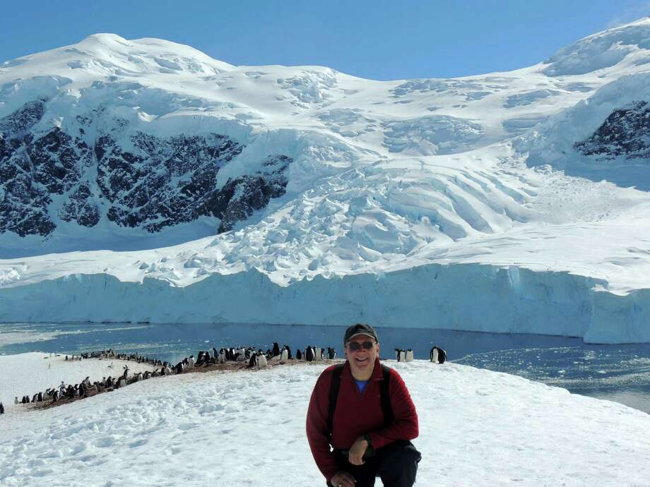 Fairfielder Don Hyman on his recent expedition to Antarctica. Photo: Contributed Photo / Fairfield Citizen contributed