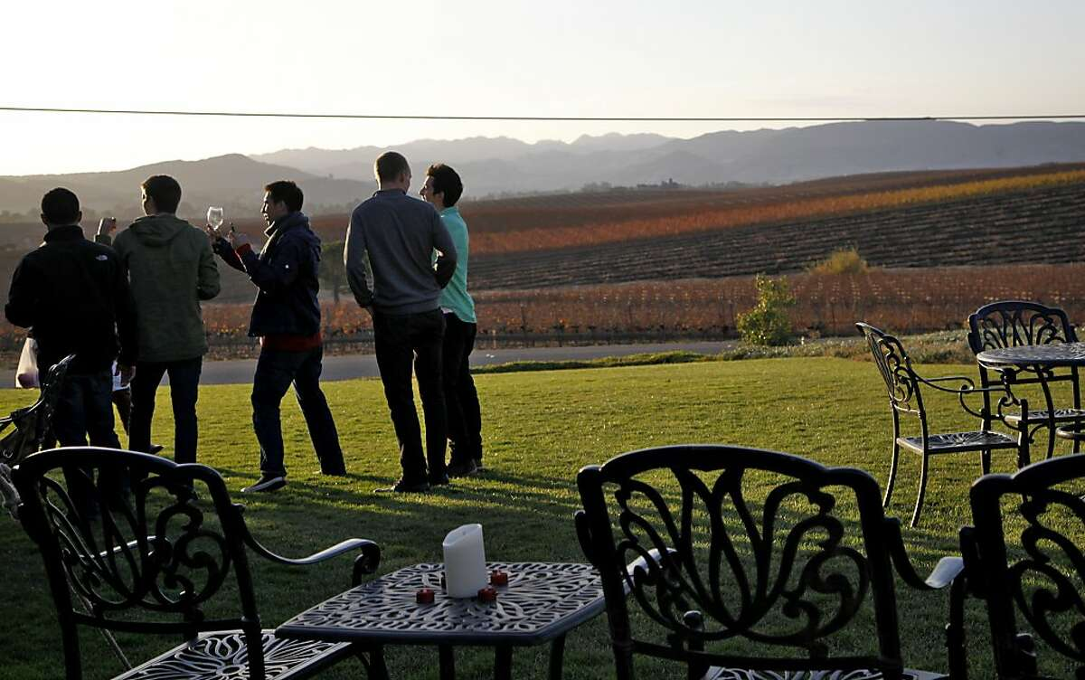 At Niven Family Estates, the tasting room is home to several family-owned and -operated wineries, all offering different specialties.