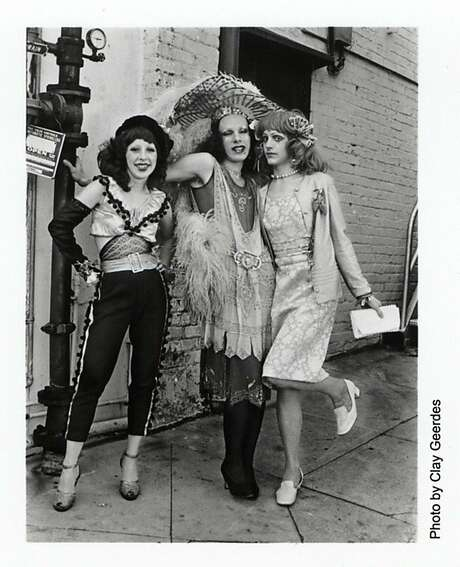 "Sweet Pam, John Rothermel and Pristine Condition of The Cockettes. Pam Tent's ""Midnight at the Palace'' details the Cockettes' saga. Left, Tent, a.k.a. Sweet Pam, dressed for ""Vice Palace,'' 1972. Photo: Courtesy Photo"