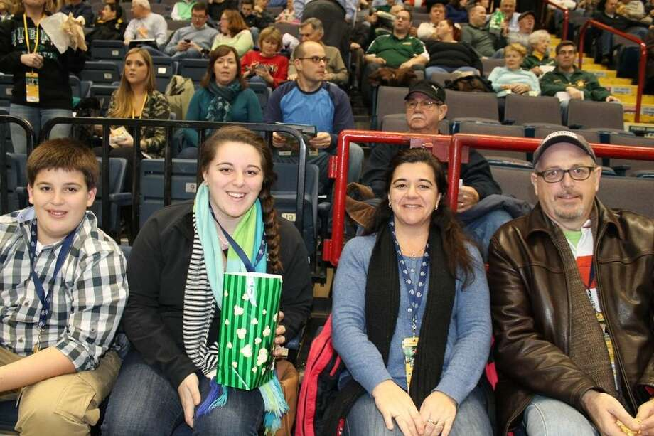 Were you Seen at the Siena vs. Fordham basketball game at the Times Union Center in Albany on Monday, Dec. 30, 2013? Photo: Amber Heiserman