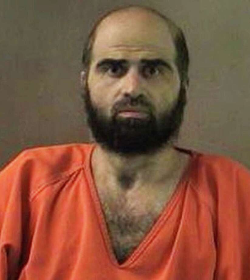 Nidal Hasan is now on military death row in Kansas after his conviction in the Fort Hood shootings in 2009. Photo: Bell County / Associated Press / Bell County Sheriff's Department