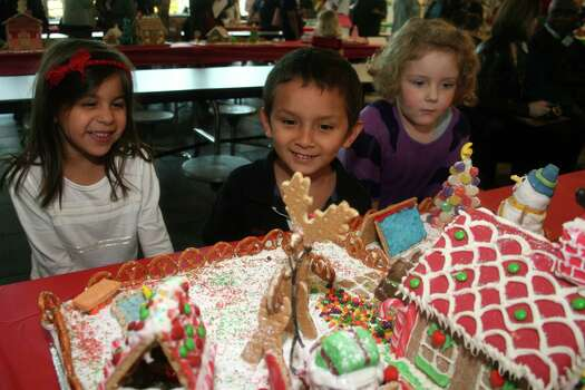 Mrs. Claus' Gingerbread House WorkshopSaturday, Dec. 20Graham crackers and colorful candy will be the construction materials for young builders at Mrs. Claus' Gingerbread House Workshop at The Woodlands Children's Museum. Mrs. Claus will mingle with the kids while they decorate their gingerbread houses.When: 10 a.m.-3 p.m. Where: 4775 W. Panther Creek in The WoodlandsTickets: $10; woodlandschildrensmuseum.org Photo: Spring Independent School District