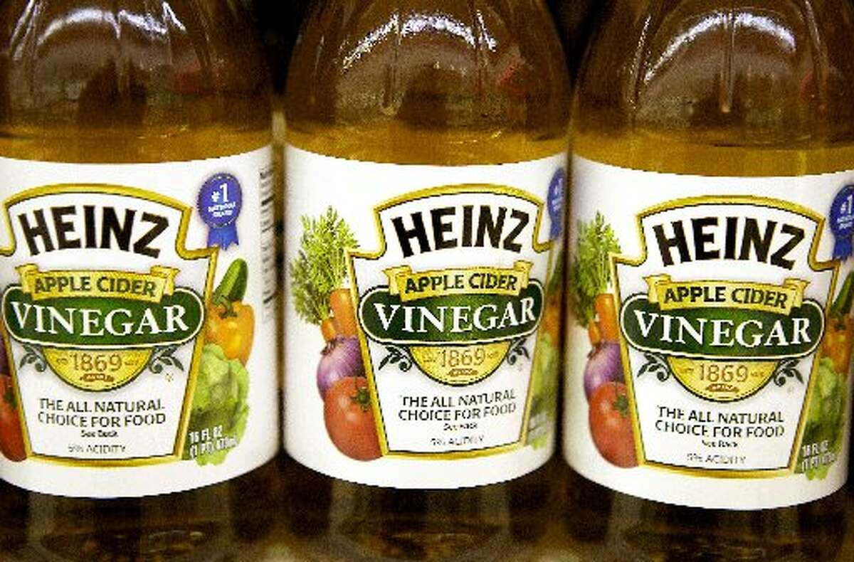 U.S. v. 95 Barrels of Alleged Apple Cider Vinegar In 1924, the Court ruled that vinegar made from rehydrated apples can't be called apple cider vinegar.