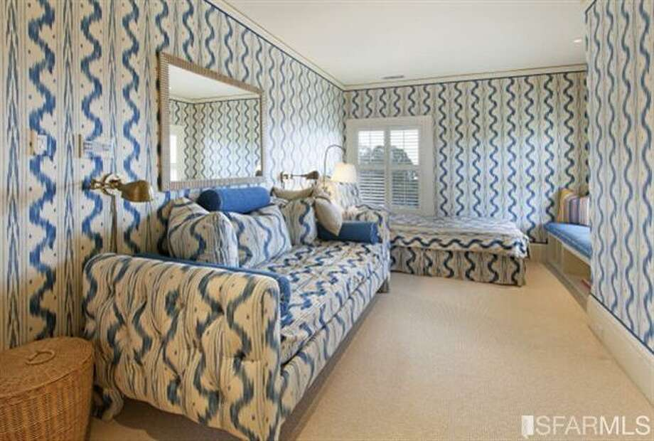 In love with a pattern in this room. Photos: MLS/Ted Bartlett, Pacific Union International