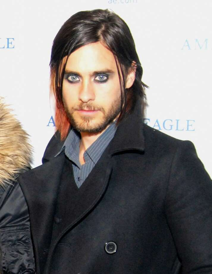 Jared Leto, a fan of guy liner (and we suspect some powder too) since the late nineties. Photo: C Flanigan, FilmMagic