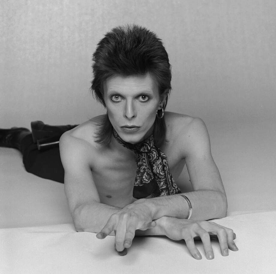 David Bowie, the original glam man. Photo: Terry O'Neill, Getty Images