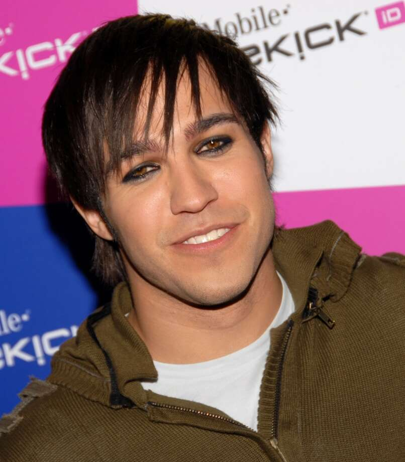 Pete Wentz with lashes for days. Photo: Mark Sullivan, WireImage