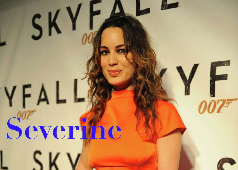 Severine may be past its prime in its native France, but its use for the latest Bond Girl in 'Skyfall' has won it new interest as a baby name possibility. With views up more than 200 percent on Nameberry in the first part of the year, Severine joins Harry Potteresque brother name Severus  they both mean, not surprisingly, severe or stern as a fresh 21st-century choice. Photo: Gallo Images, Sowetan / Getty / 2012 Gallo Images (PTY) LTD