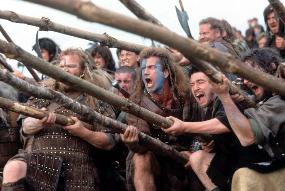 """Braveheart,"" 1995 Photo: Archive Photos, Getty Images"