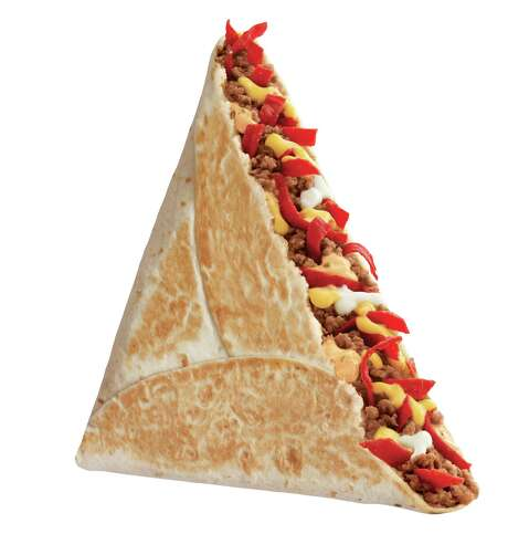Grilled Stuft Nacho from Taco Bell. Photo: Taco Bell