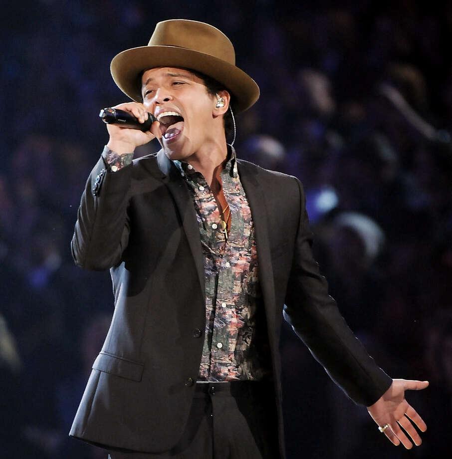Arrested in 2010 in Las Vegas, Bruno Mars was charged with felony cocaine possession. The charges were later dropped, but not before he admitted to doing the drug. Photo: Associated Press File Photo / Invision