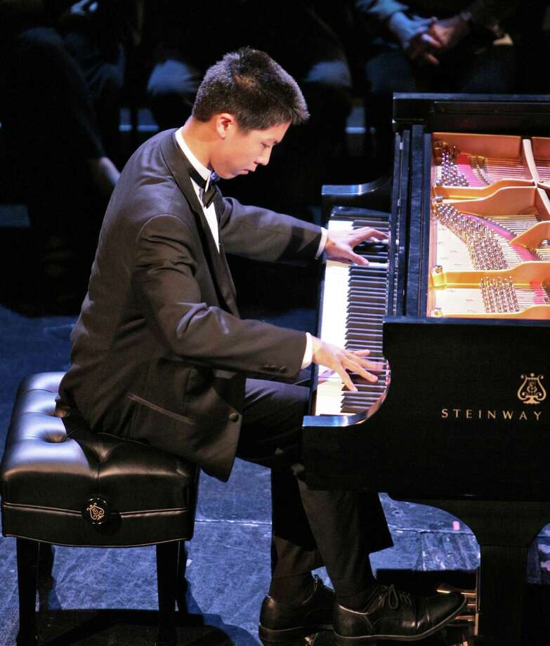 Allen Yueh, 22, a pianist who won first prize at the New York International Piano Competition at the age of 17, will present a recital at the Quick Center in Fairfield on Sunday, Jan. 12. Photo: Contributed Photo / Fairfield Citizen