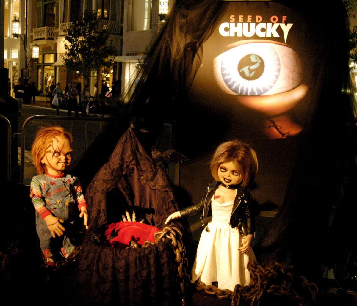 Seed of Chucky (2004) Available on HBO Dec. 1 Chucky and Tiffany are resurrected by their innocent son, Glen, and hit Hollywood, where a movie depicting the killer dolls' murder spree is underway.