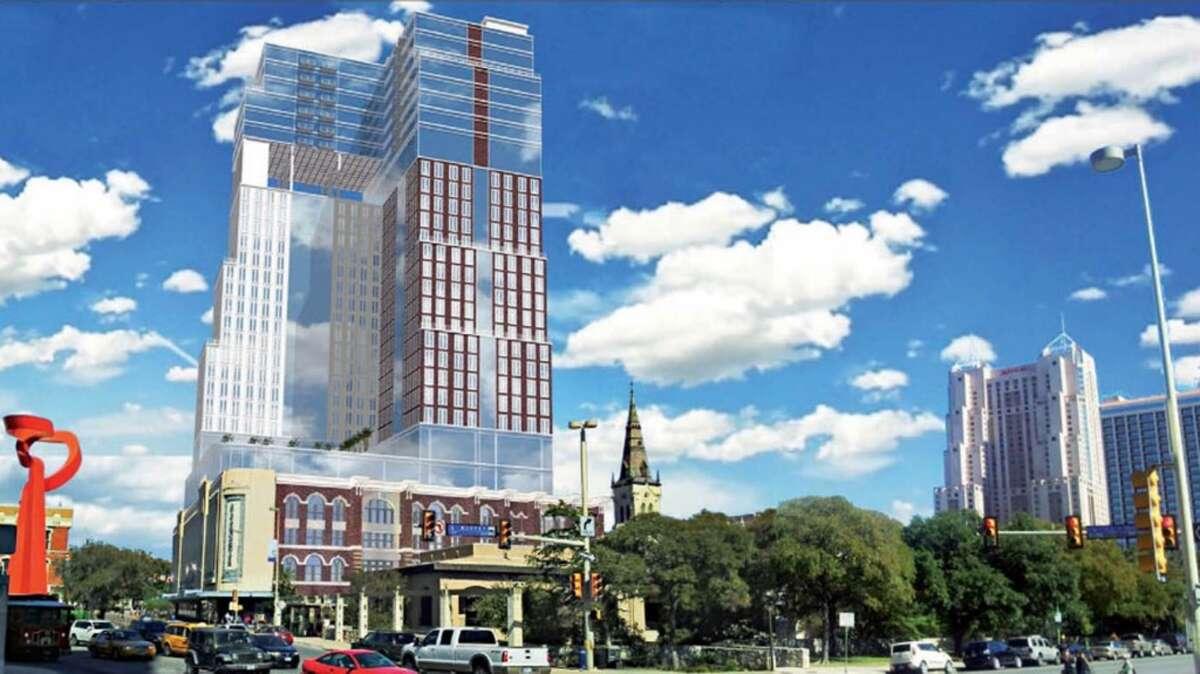 2. Hotel proposed for Joske's building.