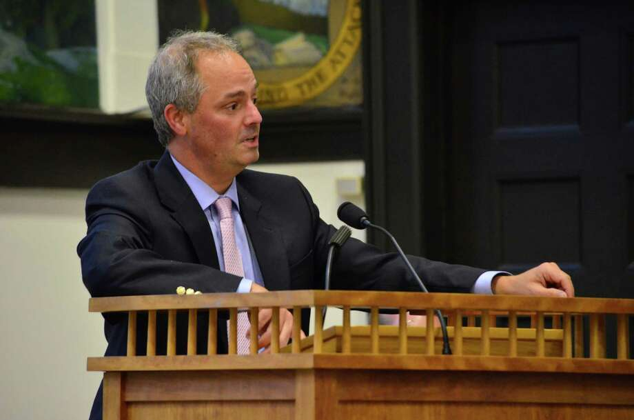Stephen Falcone resigned as superintendent of the Darien Public Schools Oct. 22 following a special education complaint that alleged widespread problems in the district. Megan Spicer/Staff photo Photo: Contributed Photo, Contributed / Darien News