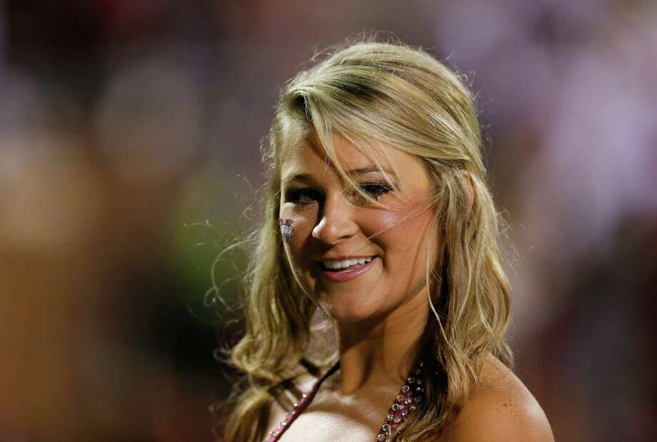 A Mississippi State Bulldogs cheerleader performs prior to the game against the Alabama Crimson Tide at Davis Wade Stadium on November 16, 2013 in Starkville, Mississippi. Photo: Kevin C. Cox, Katie Dowd / 2013 Getty Images