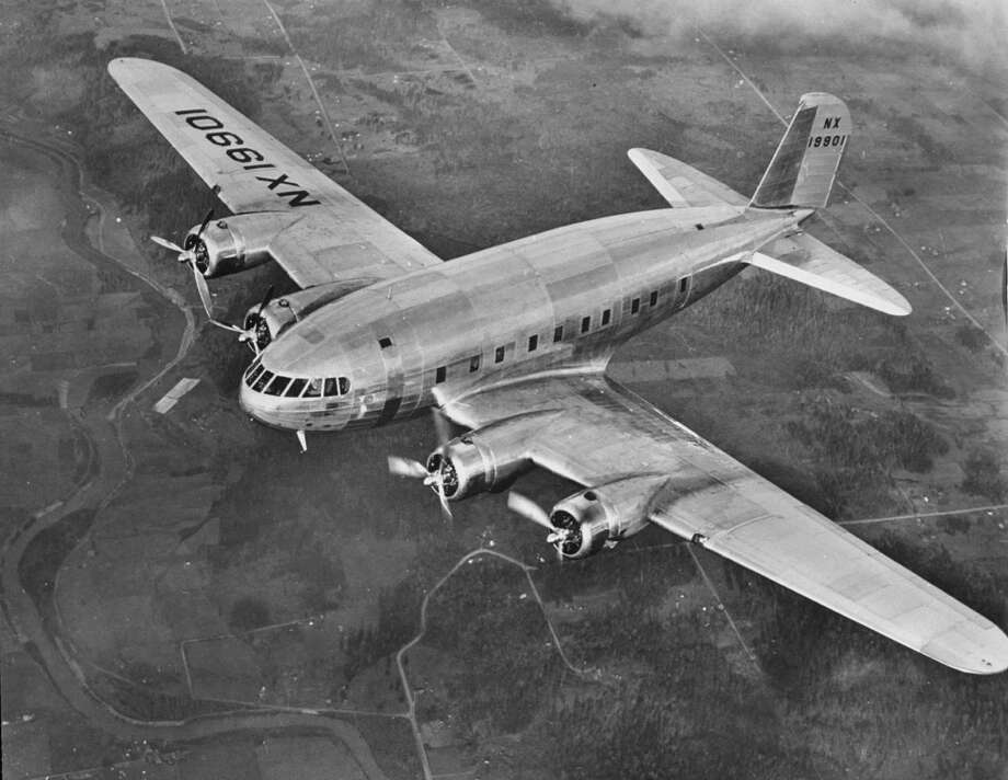 The Boeing Model 307 Stratoliner in flight. Photo: Time Life Pictures, Time & Life Pictures/Getty Image / Time Life Pictures