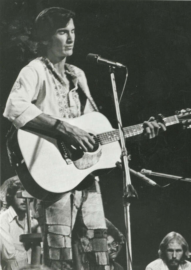 "Townes Van Zandt, shown in the documentary ""Be Here to Love Me,"" is an inspiration to singer-songwriters. More than 20 will play his songs on Wednesday at Olmos Pharmacy. Photo: PBS / FILE PHOTO"