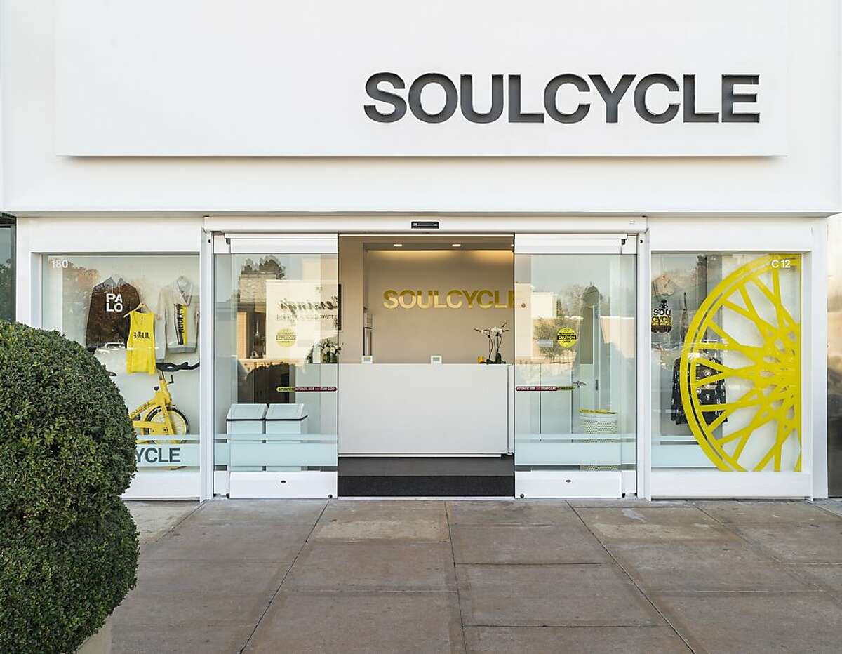 Boutique cycling studio SoulCycle opened the third of its Bay Area locations in Palo Alto's Stanford Shopping Center Nov. 22, 2013.