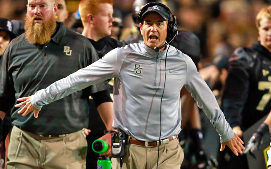 Briles orchestrated Baylor's first-ever Big 12 title.