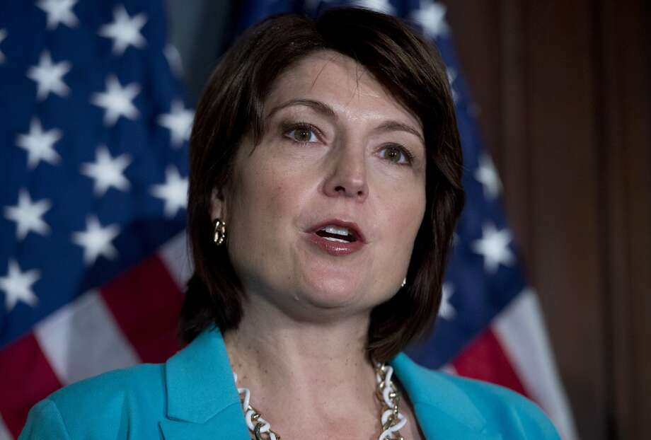 """Chants of """"Save Our Health Care"""" greeted Rep. Cathy McMorris Rodgers, R-Wash., when she appeared at a Martin Luther King Day event in Spokane. With constituents calling for face time, McMorris Rodgers has hastily announced a """"telephone town hall"""" for 7 p.m. Monday.. Photo: Tom Williams, CQ-Roll Call,Inc."""
