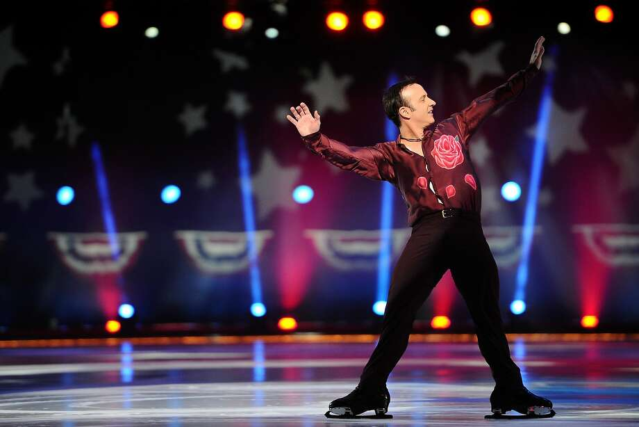 "Brian Boitano skates during the P&G & Wal-Mart ""Tribute to American Legends of the Ice"" at Izod Center on Dec. 11, 2013, in East Rutherford, New Jersey.  Photo: Maddie Meyer, Getty Images"