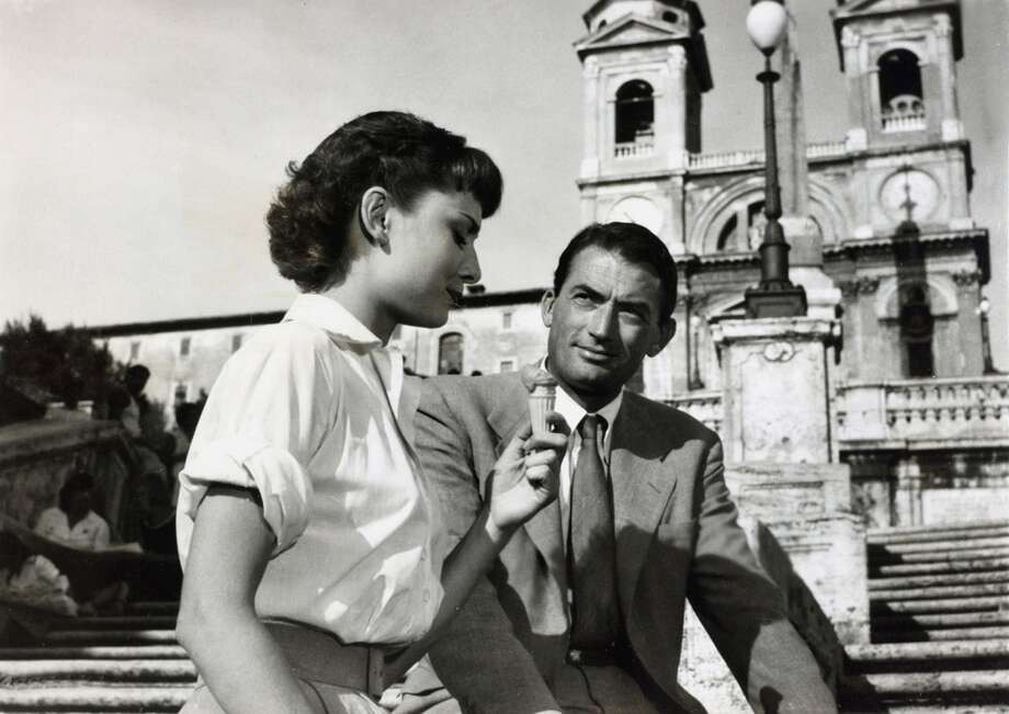 Roman Holiday (1953): Princess Ann leaves her guardians, and while in Rome, she's taken under the wing of tabloid writer Joe and his photographer sidekick. She thinks the boys don't know who she really is, but they're onto her -- and sense a sensational story.Gregory Peck, Audrey Hepburn, Eddie Albert, Hartley Power, Harcourt Williams, Margaret RawlingsAvailable: March 1 Photo: Popperfoto, Popperfoto/Getty Images