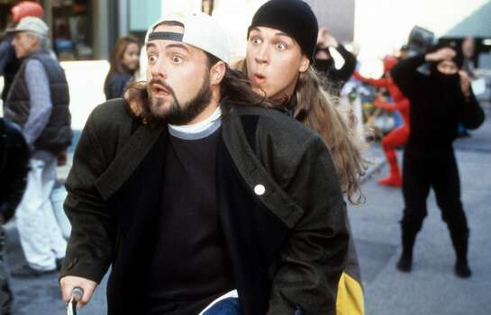 'Jay and Silent Bob's Super Groovy Cartoon Movie' - After hitting the lottery jackpot, Jay and Silent Bob use their newfound cash to become crime-fighting superheroes Bluntman and Chronic. Available Sept. 1 Photo: Hulton Archive, Getty Images