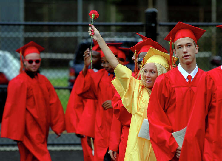 Stratford High School's 124th Annual Commencement in Stratford, Conn. on Wednesday June 26, 2013.