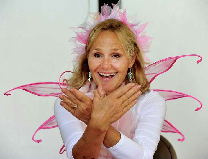 Author Jane Collins, creator of the Enjella series about a tooth fairy turned