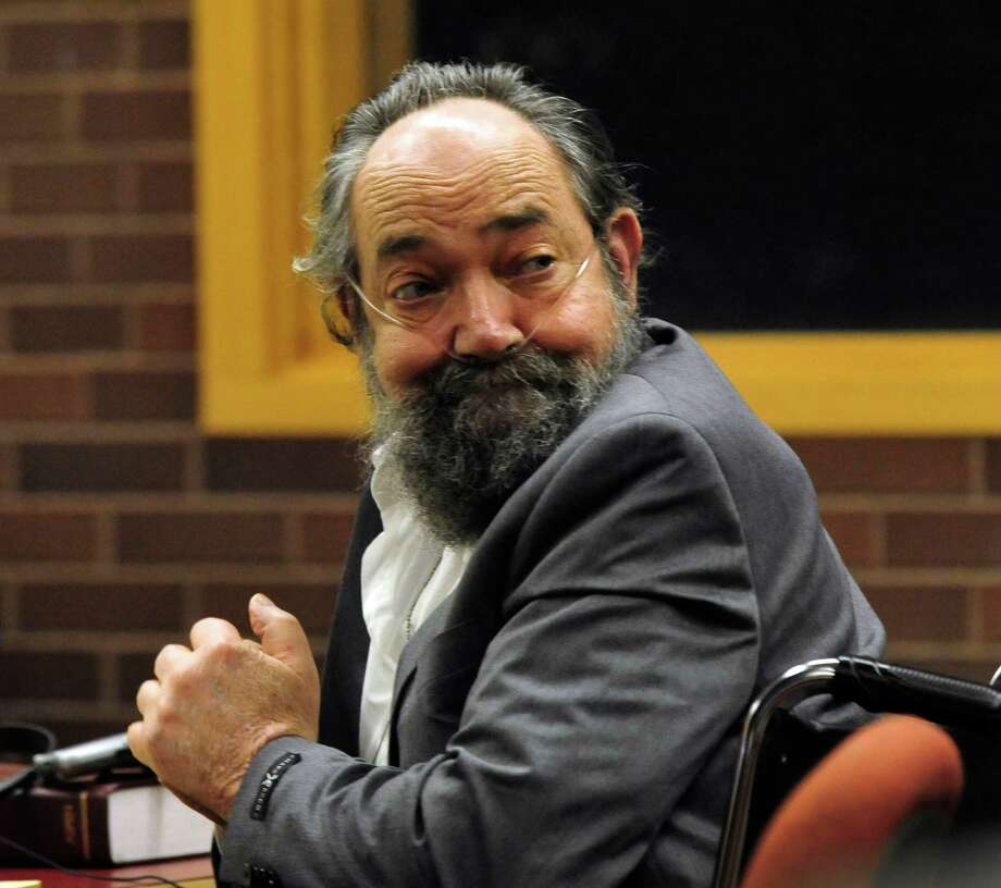 John Heath sits in court on the first day of his murder trial in Danbury Superior Courthouse, in Conn. Thursday, Sept. 26, 2013. Photo: Michael Duffy / The News-Times