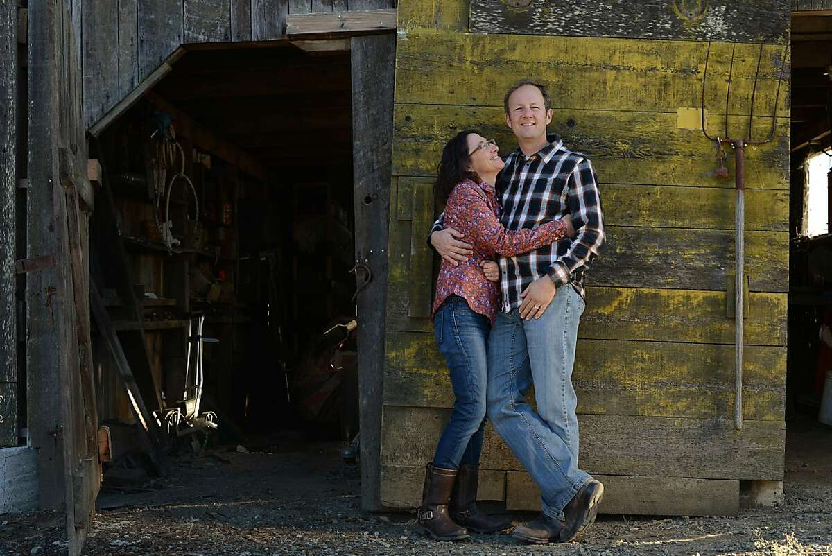 Steve and Jill Klein Matthiasson met in Davis when she received a grant to work on almond farming and hired him as an intern. They moved to Napa in 2002.