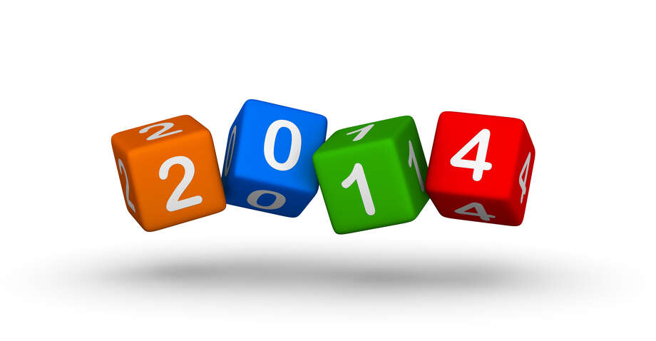 New year 2014 design element Number cubes FOTOLIA / almagami - Fotolia