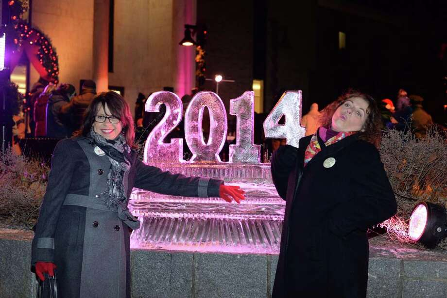 Danbury hosted it's annual First Night celebration which marks the new year.  There was live entertainment downtown that included people on stilts, musical acts, ice sculpting, magicians and more.Were you SEEN at Danbury's First Night celebration Photo: Andrew Merrill