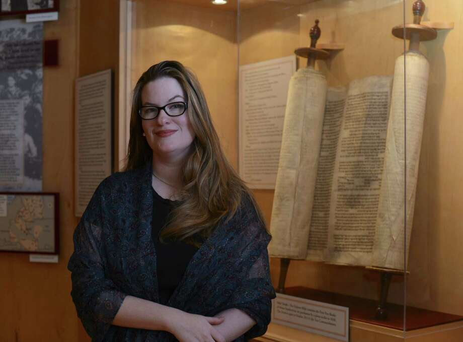 Francesca Garrett is executive director of the Holocaust Memorial Museum of the Jewish Federation of San Antonio. Photo: Billy Calzada / San Antonio Express-News / San Antonio Express-News
