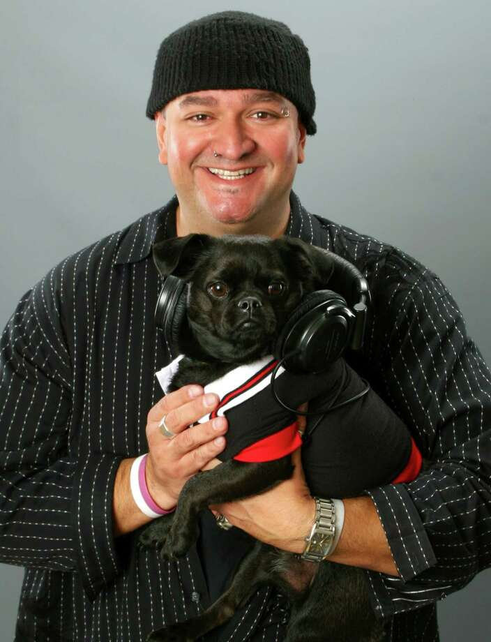 Dave Morales and his pup Liam.  Morales is a weekend anchor for KRBE radio station and a frequent contributor to KRIV Fox 26. He also is the host/editor of Backstage OL, an online entertainment resource. Photo: Courtesy Photo / ONLINE_YES