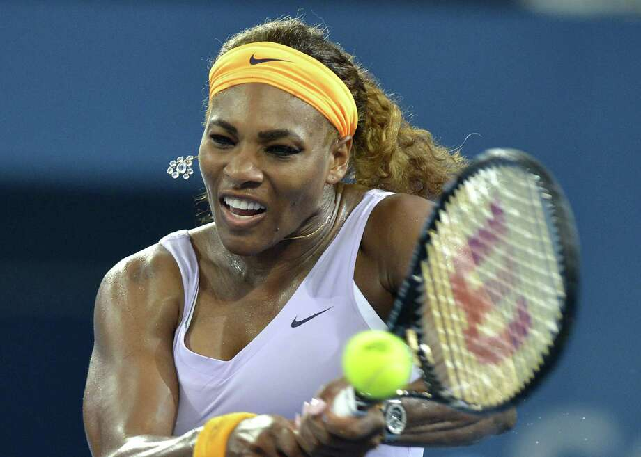 Serena Williams had 35 winners in her 6-4, 6-4 win over Andrea Petkovic of Germany on Tuesday at the Brisbane International. Photo: Bradley Kanaris, Stringer / 2013 Getty Images