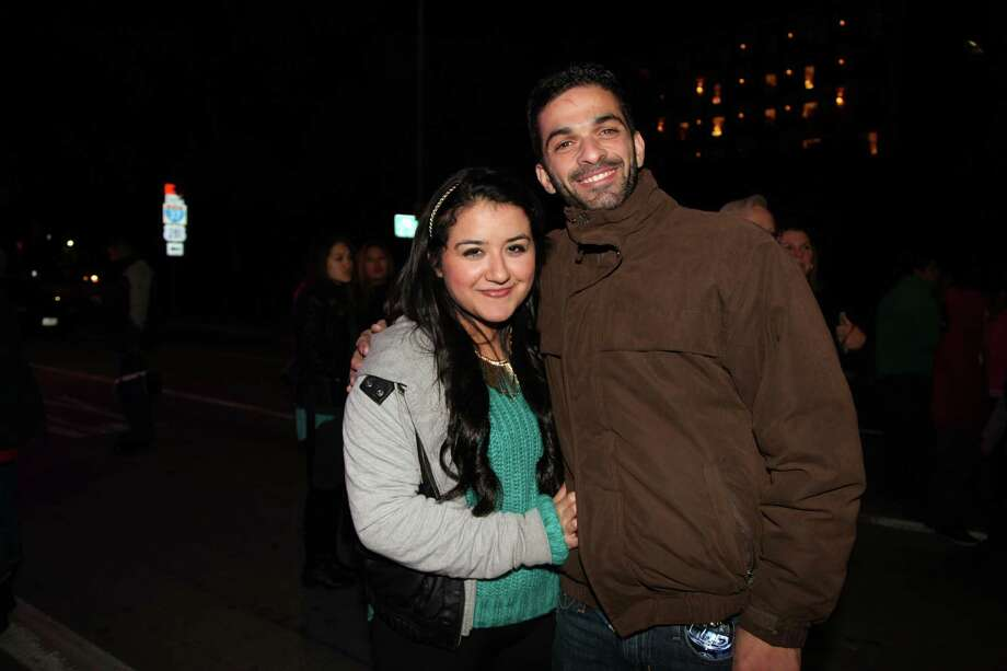 See who ushered in 2014 during San Antonio's New Year's Eve celebration. Photo: Photos By Xelina Flores-Chasnoff, For MySA.com