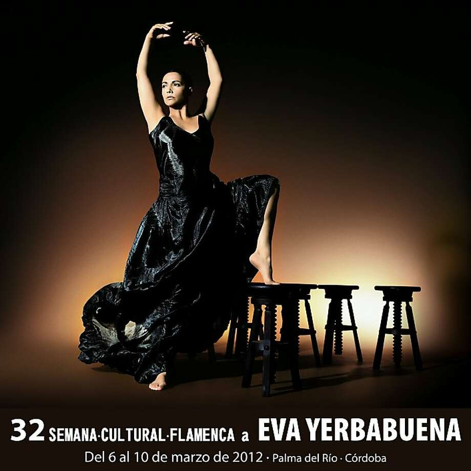 Flamenco dancer Eva Yerbabuena, who will appear at Zellerbach Hall in March, combines a personal performance with artful formal stagecraft. Photo: Culuras De Palma