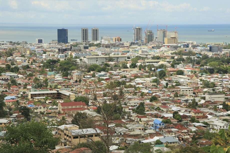 8. Port of Spain, Trinidad and Tobago. JetBlue will offer new nonstop flights to this Caribbean capital from New York as of Feb. 24 and Fort Lauderdale as of May 1. West Coasters may be more intrigued by the $48 round-trip flights from Port of Spain to less-developed Tobago, where ShermansTravel.com says  B&Bs start at $55 a night. Photo: Sean-Edghill, Getty Images/Dorling Kindersley